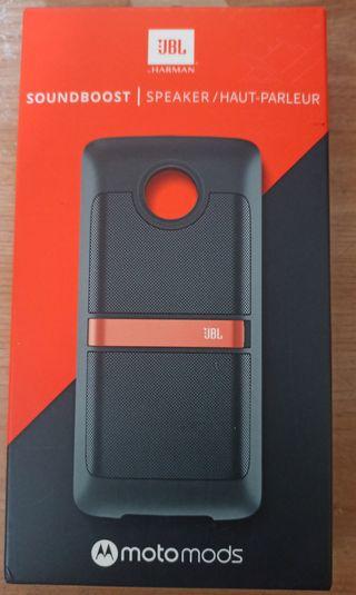 Motorola motomod altavoz JBL
