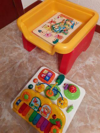 Mesa actividades regalo puzles