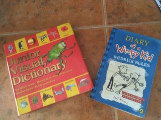 LOTE 2 libros inglés