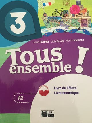 vendo libro francés tercero de la eso