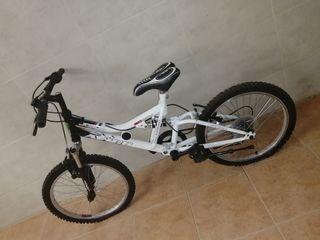 """Bicicleta de 20"""", estado impecable"""