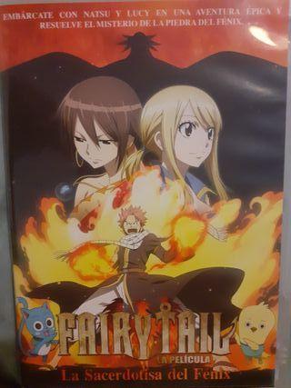 DVD Fairy Tail Película La Sacerdotisa Del Fénix