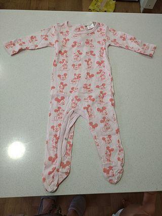 Pijama Miky bebe 6m