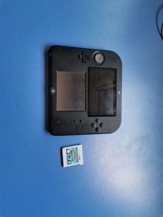 Nintendo 2ds con juego