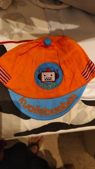 gorra de bebe