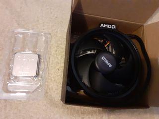 Procesador para placas AMD + ventilador.