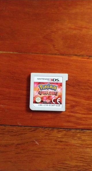 pokémon omega ruby nintendo 3DS