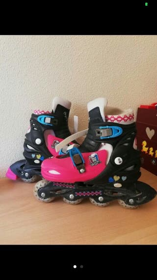 Patines en linea monster high