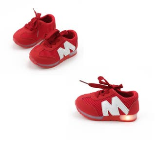 zapatos con luces niño nuevo talla 17,5