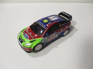 CARRERA GO 1/43 SLOT FORD FOCUS WRC NUEVO