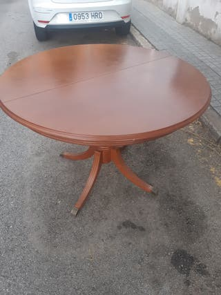 mesa de madera plegable