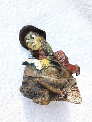 NUEVO caja joyero resina Keko's bruja