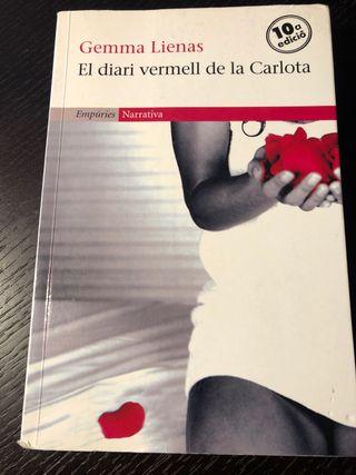 El diari vermell de la Carlota ISBN 978-84-9787-03