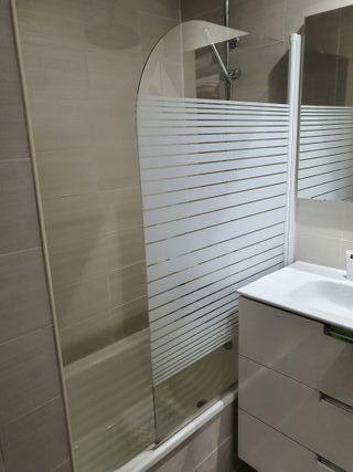 Mampara ducha para bañera
