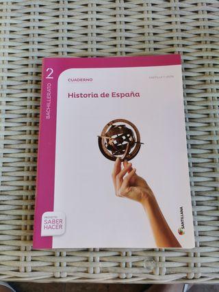 Historia de España 2° Bachillerato. Santillana