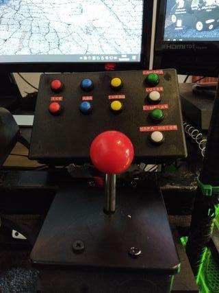 Botoneras y cambios secuenciales sim racing PC