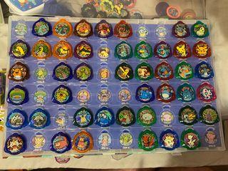 Tazos, cromos, chapas, cartas Pokemon