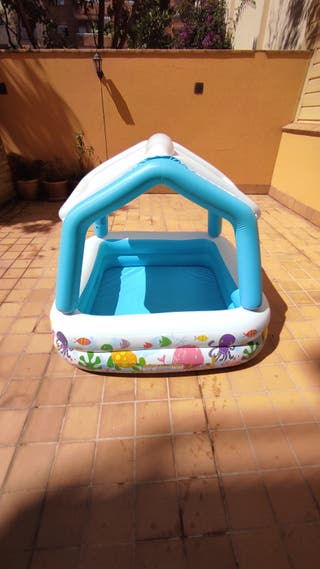 Piscina hinchable con toldo INTEX