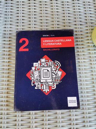 Lengua Castellana y Literatura 2° Bachillerato