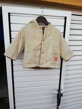 chaqueta de niño pana tomsa