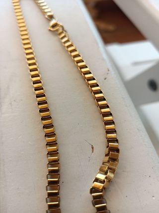 Envio 24h cadena de oro veneciana