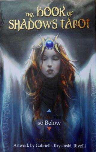 The book of shadows tarot libros y 2 barajas