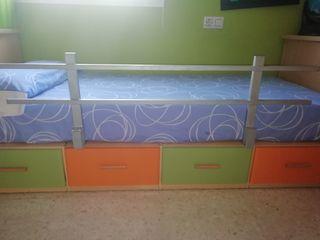 barandilla de cama