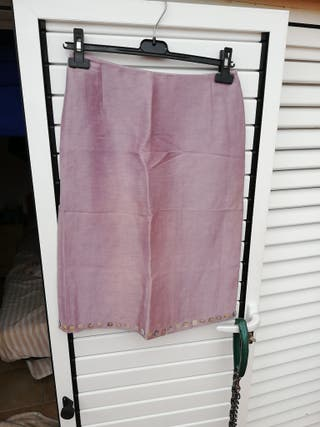 falda color lila clarito cedosce