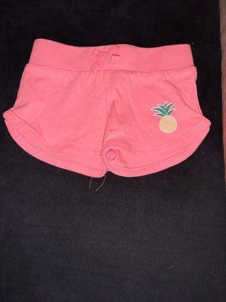pantalones corto bebe