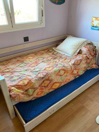 cama flexa individual
