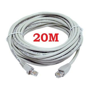 CABLE LAN ETHERNET DE 20 METROS RJ45 FTP Cat.5E