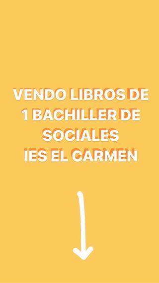 VENDO LIBROS DE BACHILLER