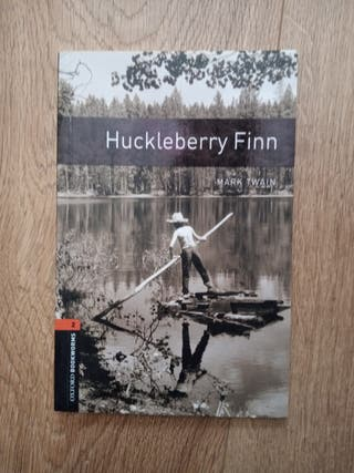 Libro en Ingles de Huckleberry Finn