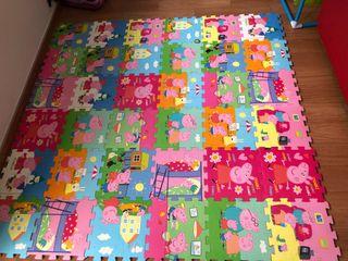 Suelo puzzle Peppa Pig