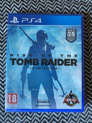 Tomb Raider 25 aniversario PS4