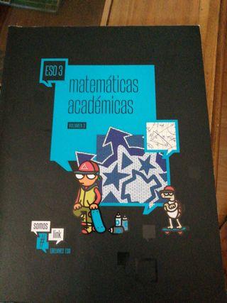 LIBRO DE TEXTO EDITORIAL EDELVIVES MATEMÁTICAS ACA