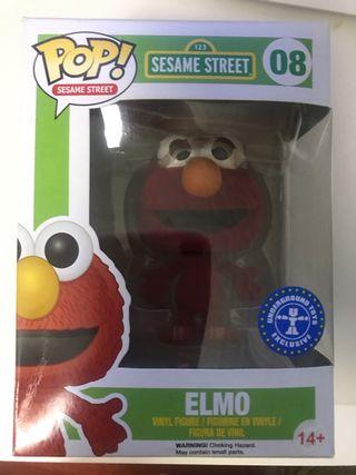 Elmo flocked funko pop