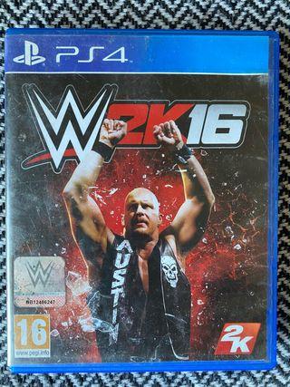 WWE 16 para PS4