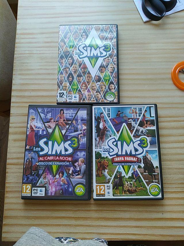 Los sims 3 Pc pack de 3