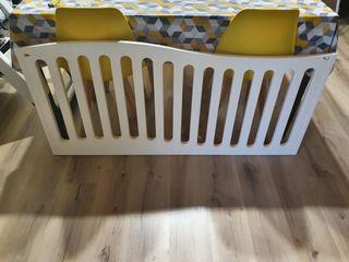 barandilla cuna bebé