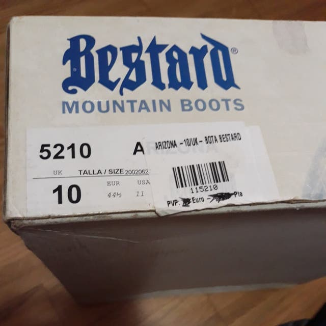Botas de monte BESTARD GORE-TEX talla 44½