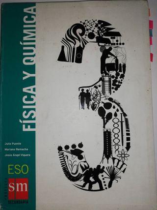 Libro de Física y Química de Tercero de ESO.