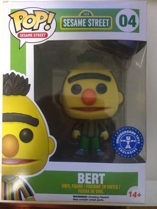 Bert flocked funko pop
