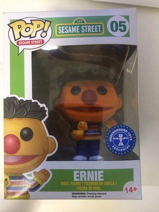 Ernie flocked funko pop