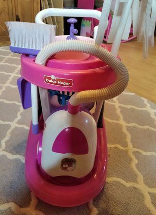 juguete carro limpieza.