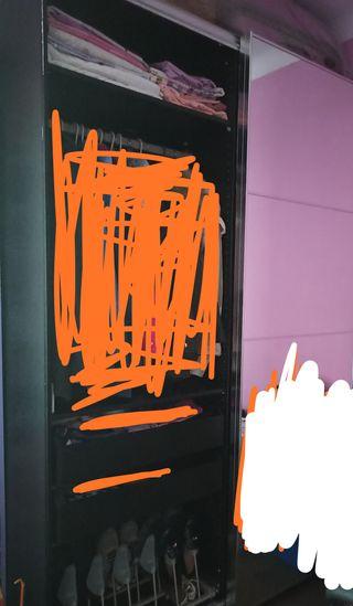 armario puerta corredera con espejo Ikea