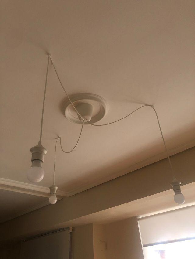 Lámpara led 3 bombillas