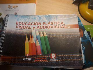Libro artes plástica 2 ESO edición Tabarca.