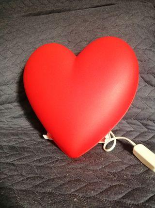 Lámpara corazón