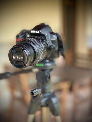 Cámara de fotos réflex Nikon D3000